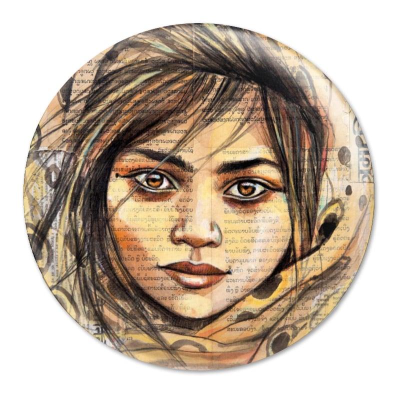 "Image of Magnet - ""Gitane du Rajasthan"""