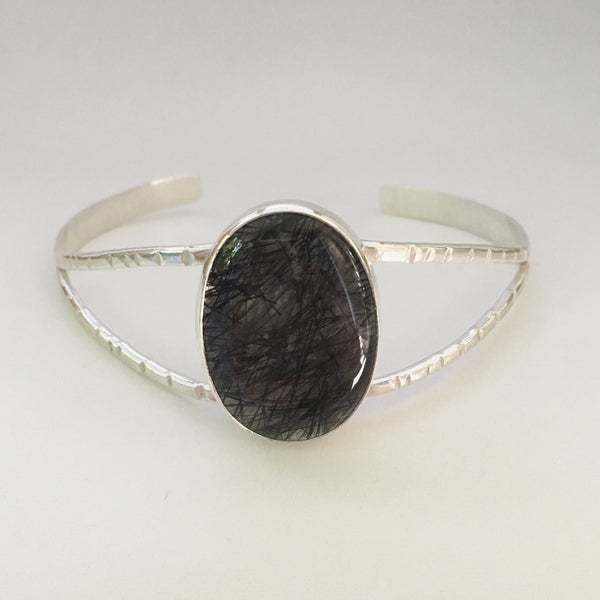 Image of Tourmaline in Quartz Cuff