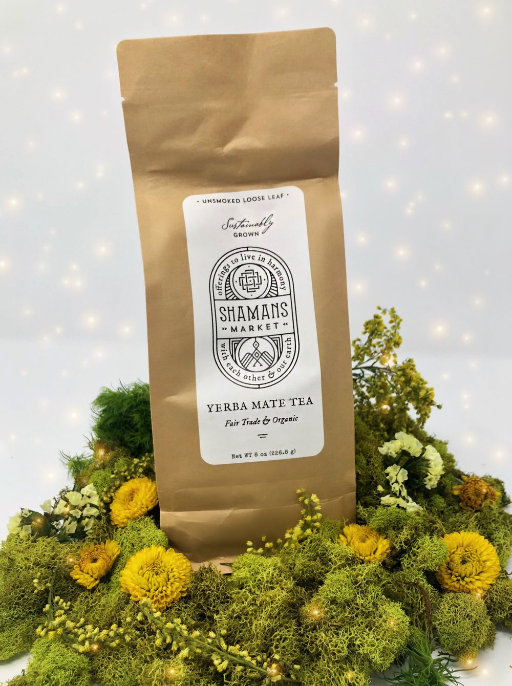 Image of Organic Yerba Mate Loose Leaf Tea