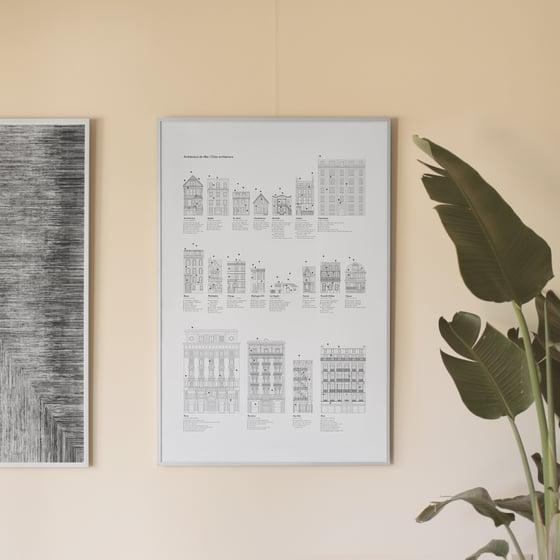 Image of Poster Architecture de villes