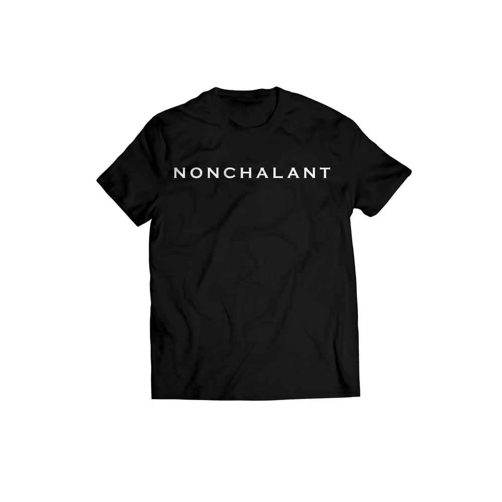 Image of Nonchalant Tee(Black)