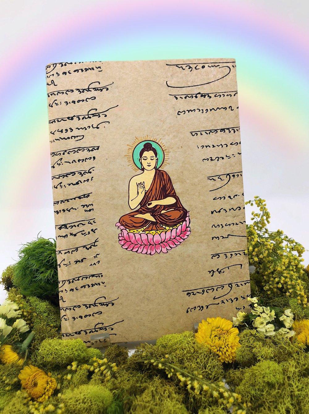 Image of Seated Buddha Journal