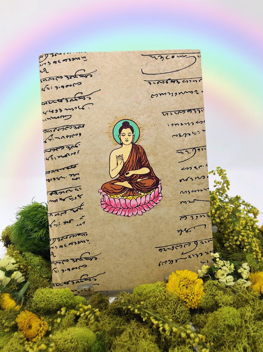 Image of Seated Buddha Journal