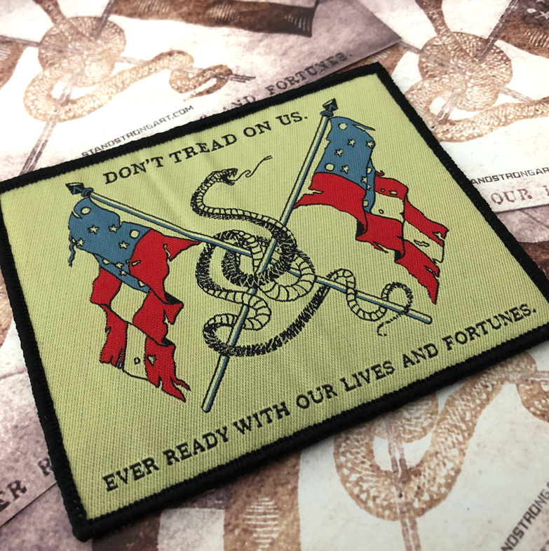Image of DON'T TREAD // WOVEN