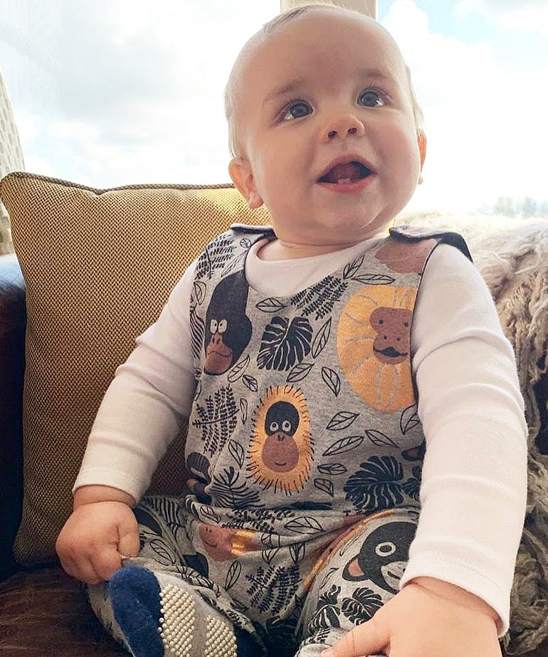 Image of Cheeky Monkey Romper