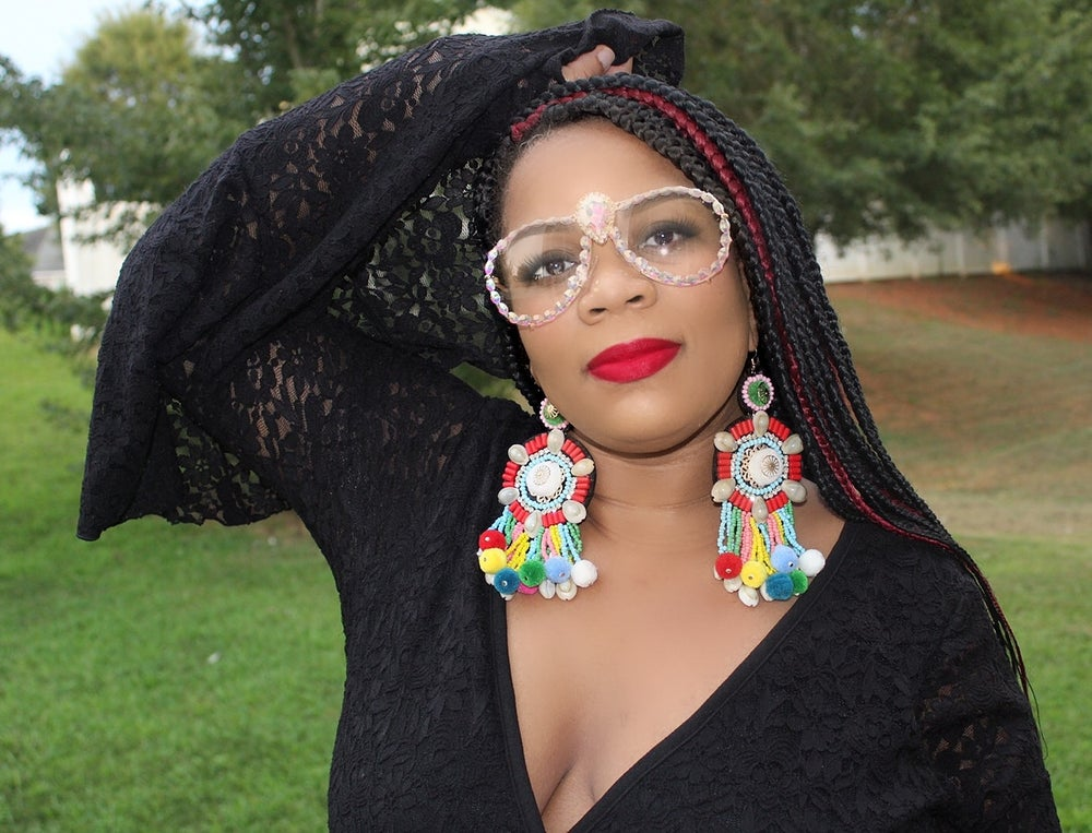 Image of Majestic Glam earrings