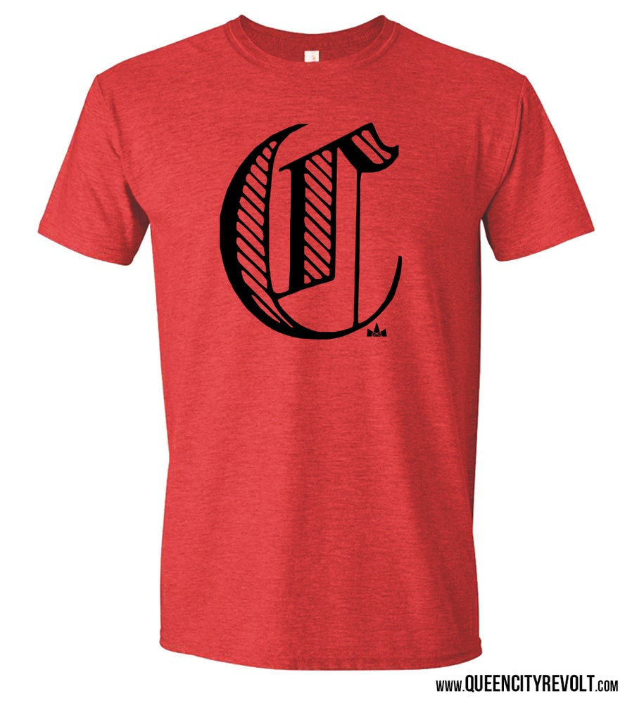 Image of Cincinnati C Tee, Red