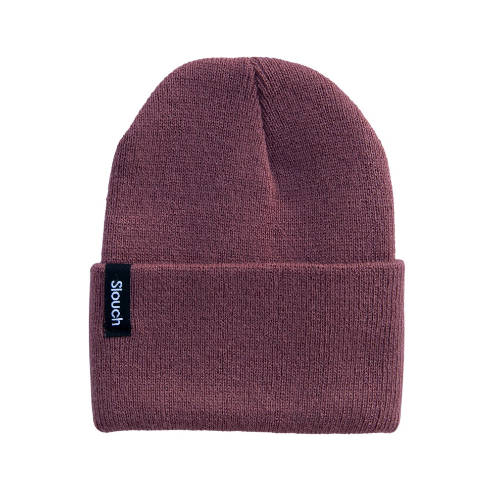 Image of Berry Knit Cuff Beanie