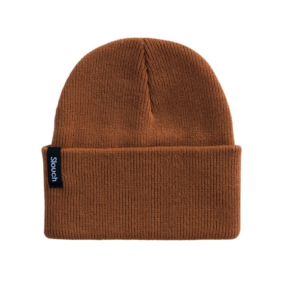 Image of Rust Knit Cuff Beanie