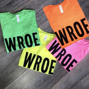 Image of NEON GREEN BOLD TEE
