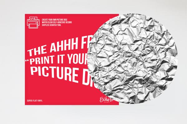"""Image of Aluminium Foil - 7"""" Ahhh Fresh Picture Disc by Bihari"""