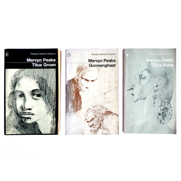 Image of The Gormenghast Trilogy - Mervyn Peake