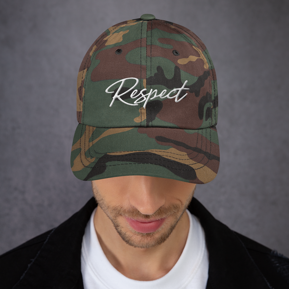 "Image of LROC ""RESPECT"" DAD HAT"