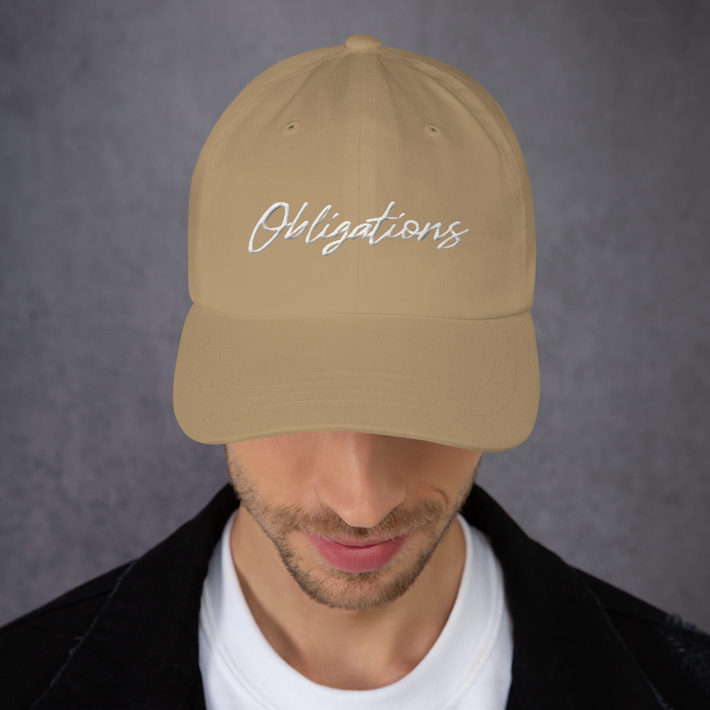 "Image of LROC ""OBLIGATIONS"" DAD HAT"