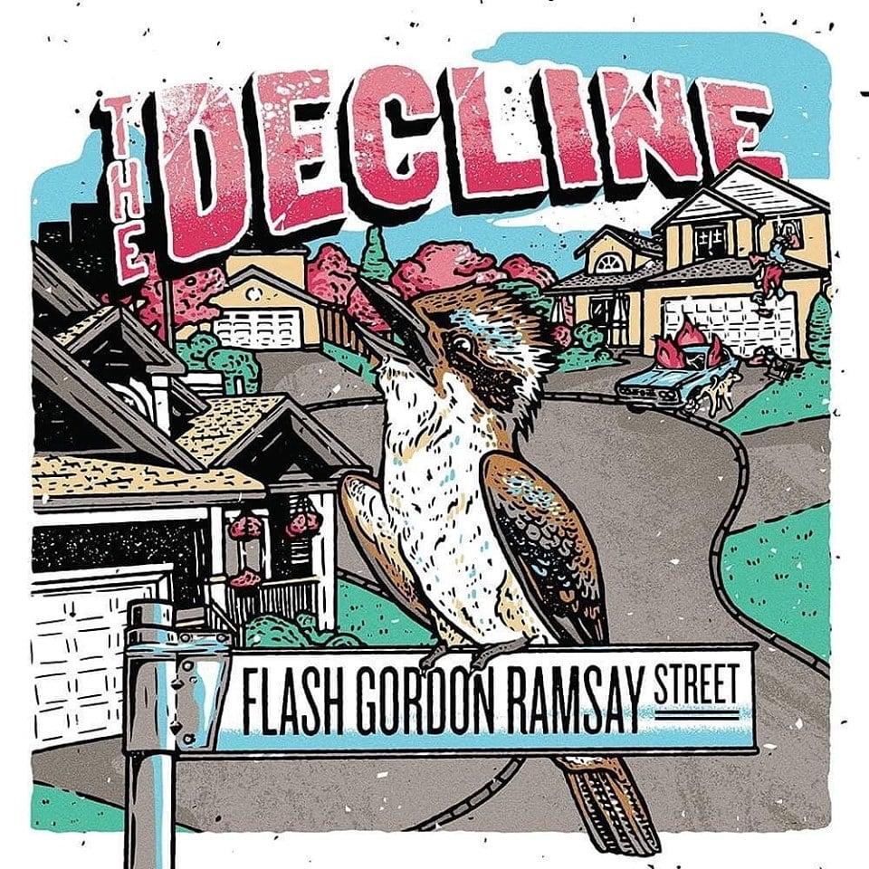 """Vinyl 12"""" Album - """"Flash Gordon Ramsay Street"""""""