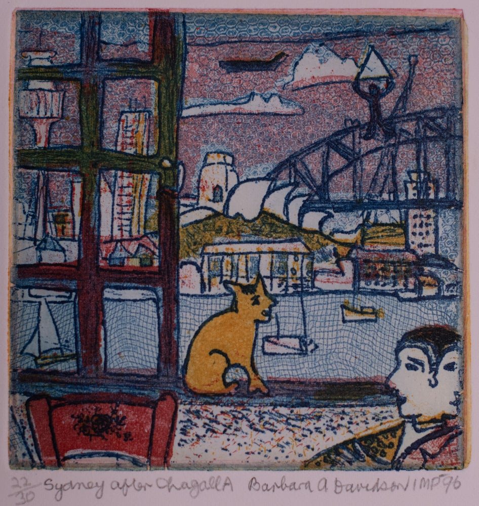 Image of Sydney after Chagall A