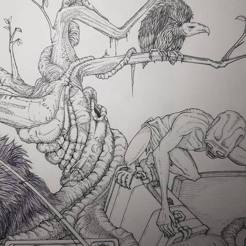Image of The Struggle - Original artwork