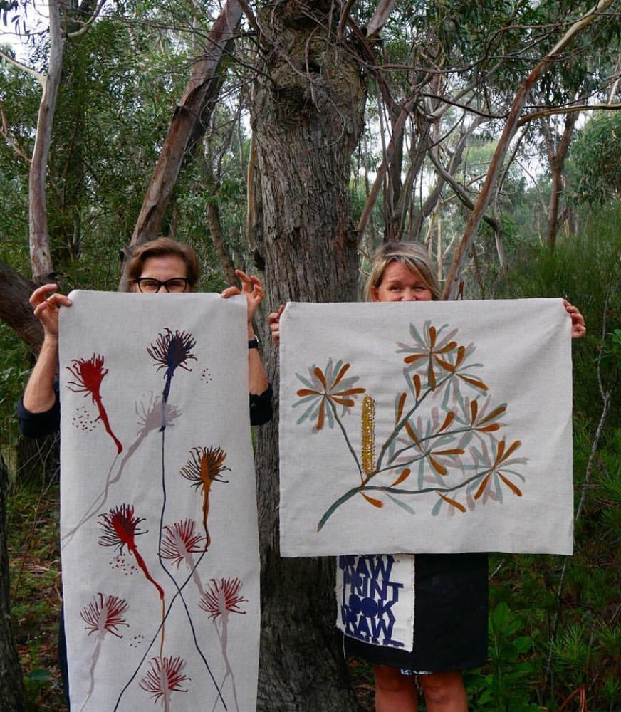 Image of LOOKDRAW    PRINT                -with Julie Paterson October 13th 10-4pm..Craft Week Workshop!