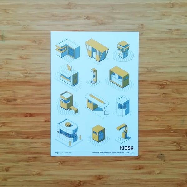 Image of KIOSK - SIGNED PRINT