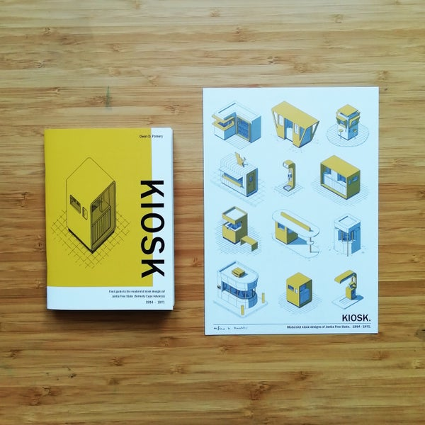 Image of KIOSK - field guide + signed print - COMBO