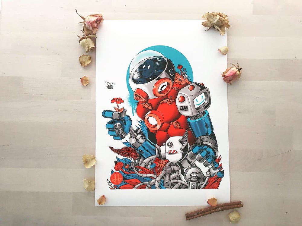Image of Deadbeat Hero Austrianaut Giclée Print
