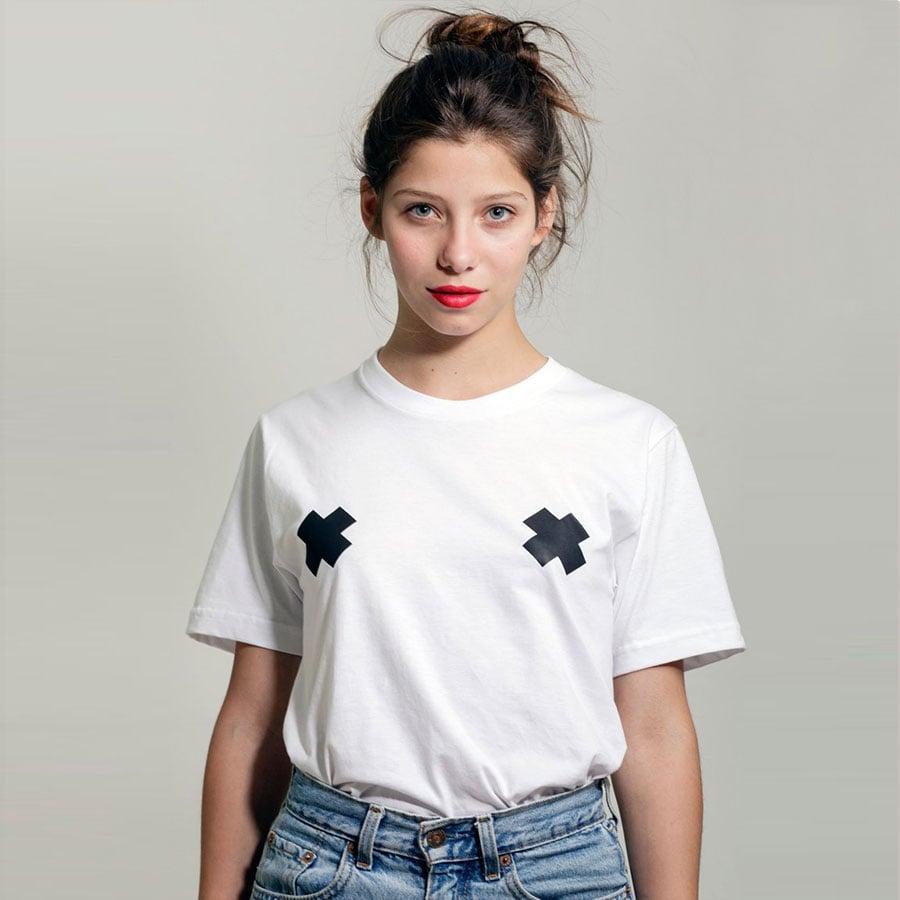 Image of Camiteta cruces negras / black crosses tit-shirt