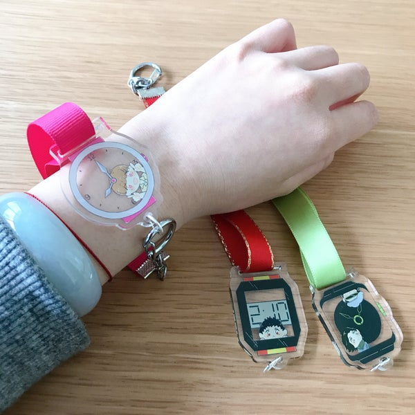 Image of Kamen Rider Zi-O Watch Charms