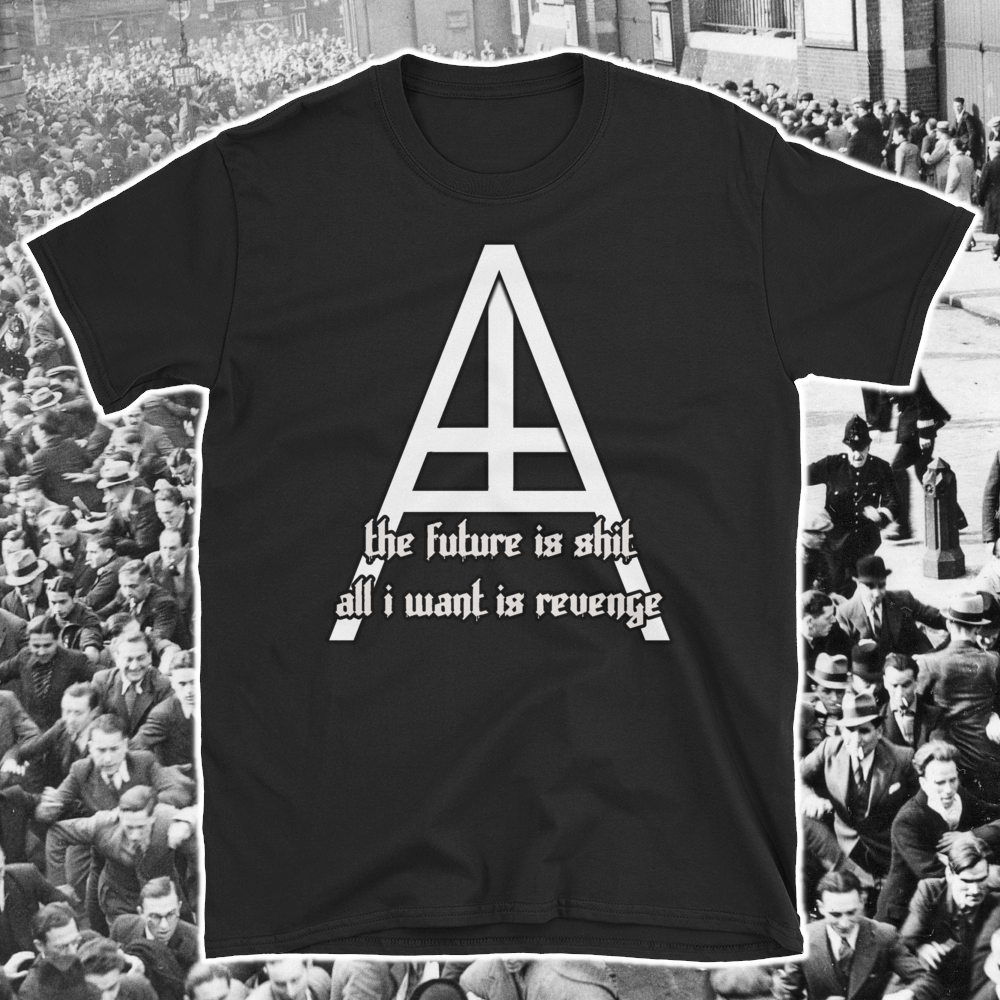 Image of The Future is Shit - All I Want is Revenge - Unisex shirt