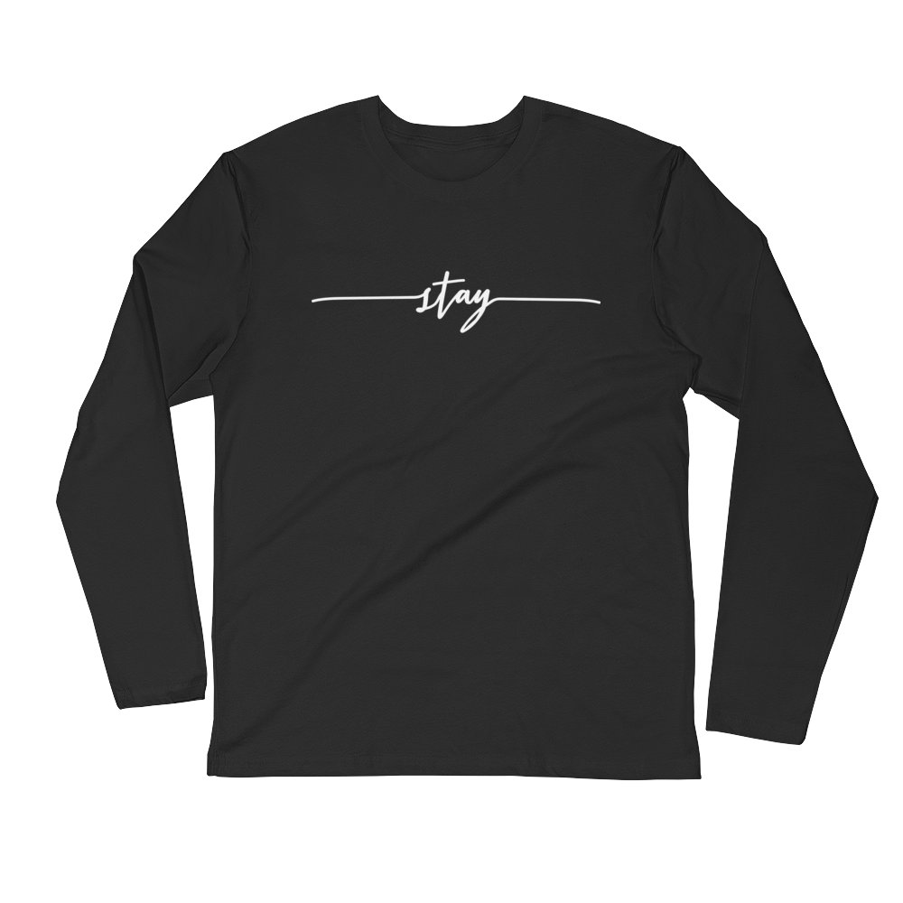 Image of Unisex STAY Long Sleeve Tee