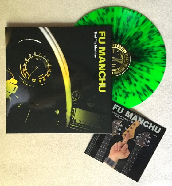 Image of Start The Machine LP plus Flexi-Disc