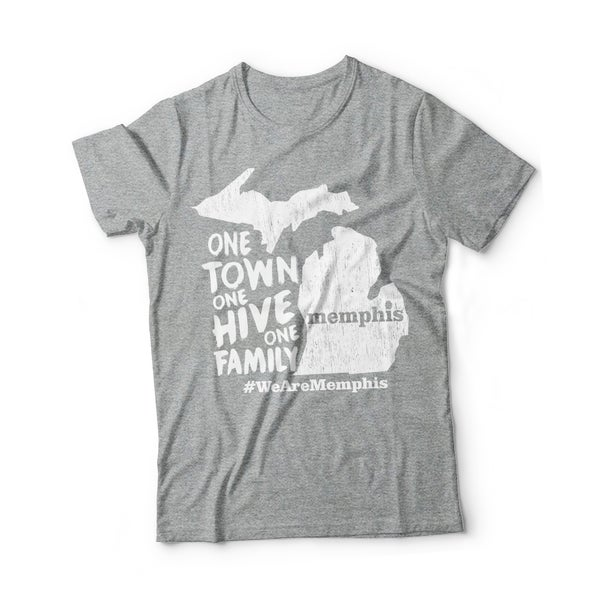 Image of One Town, One Hive, One Family T-Shirt