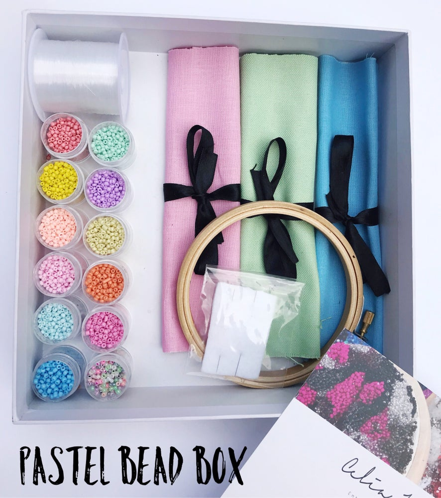 Image of Pastel Bead Box