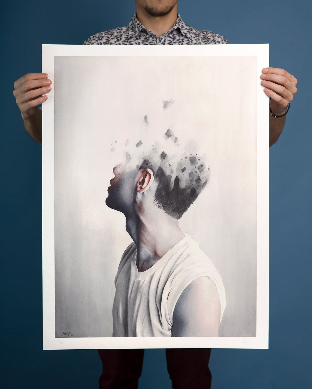Image of Depleted - Limited Edition Prints - LARGE