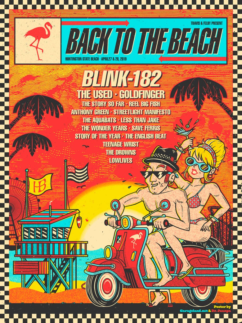 Image of Back to the Beach Poster (Regular)