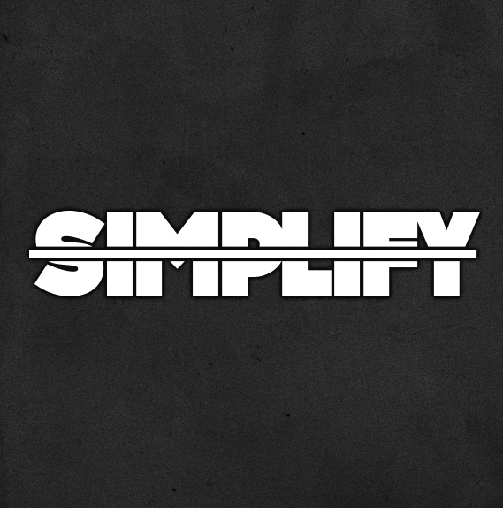 Image of SIMPLIFY // DECAL