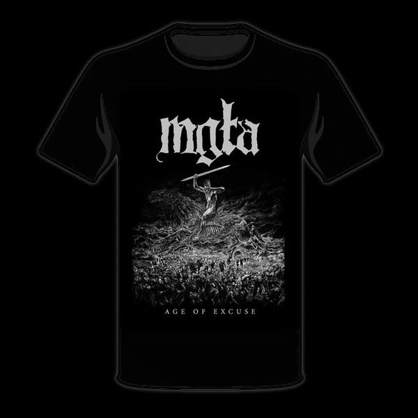 Image of MGŁA - 'Age of Excuse' men's t-shirt
