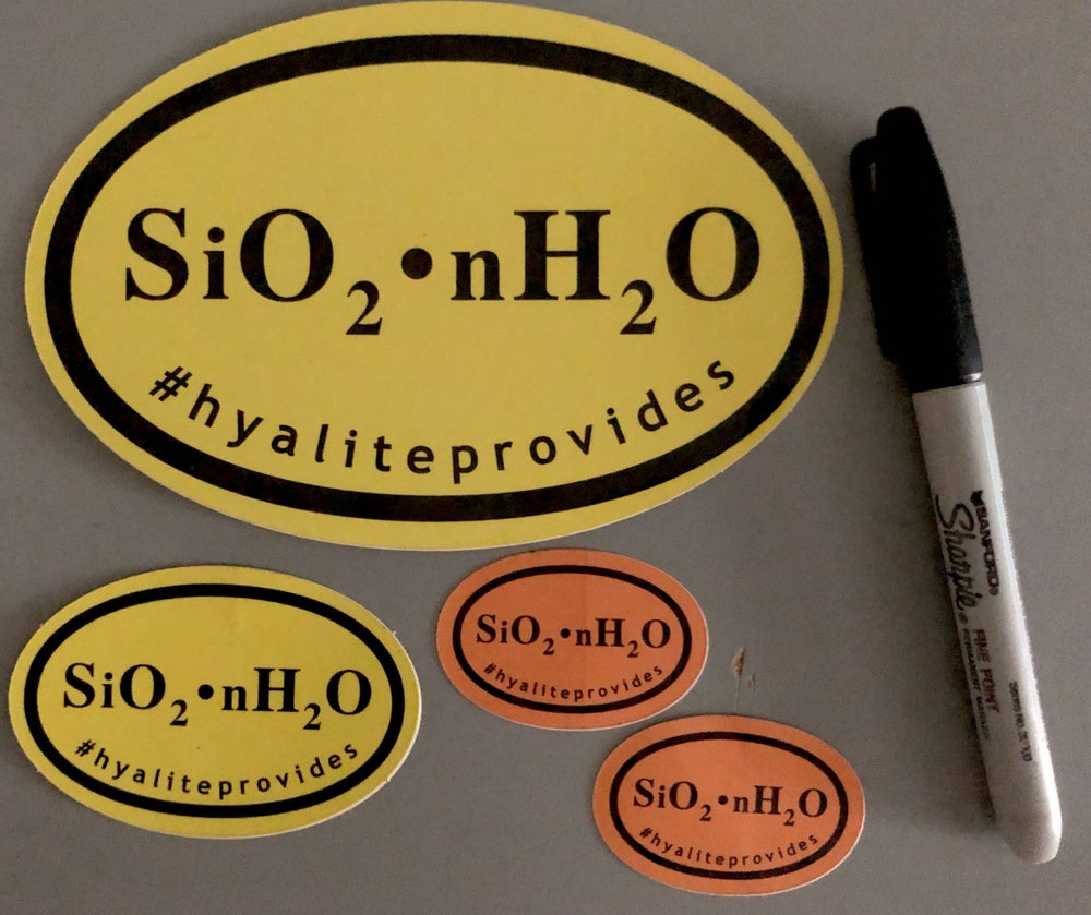 Image of Hyalite Provides Sticker Set