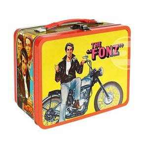 Image of Happy Days The Fonz lunch box Captain Marvel