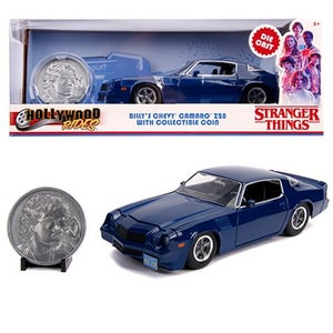 Image of  Stranger Things Billy's 1979 Chevy Camaro Z28 1:24  with Coin