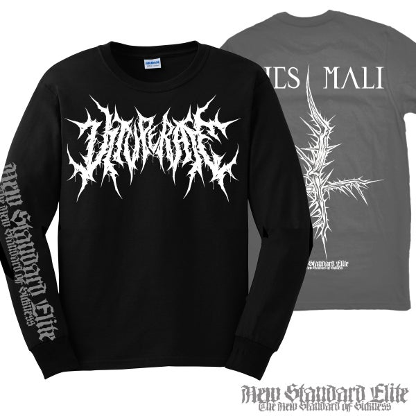"Image of VITUPERATE ""DIES MALI"" LONG SLEEVE"