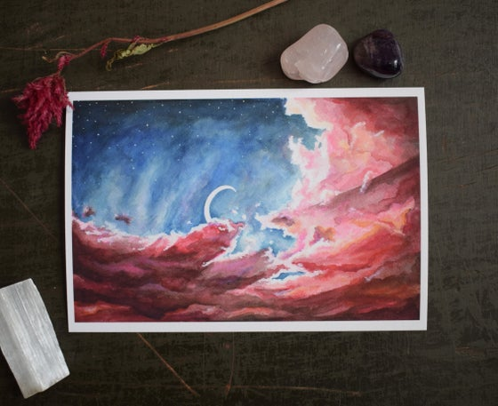 Image of Purple Skies Print