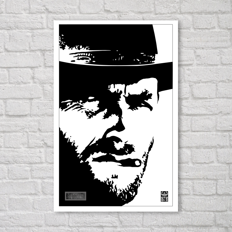 Image of CLINT EASTWOOD // PRINT 11x17