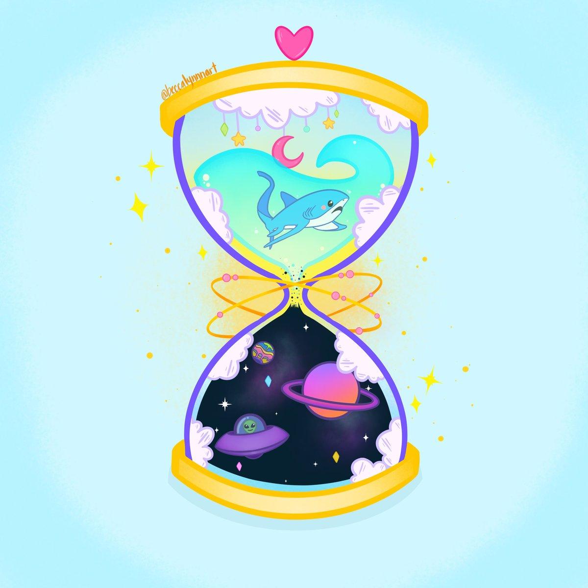 Image of Hourglass Art Print