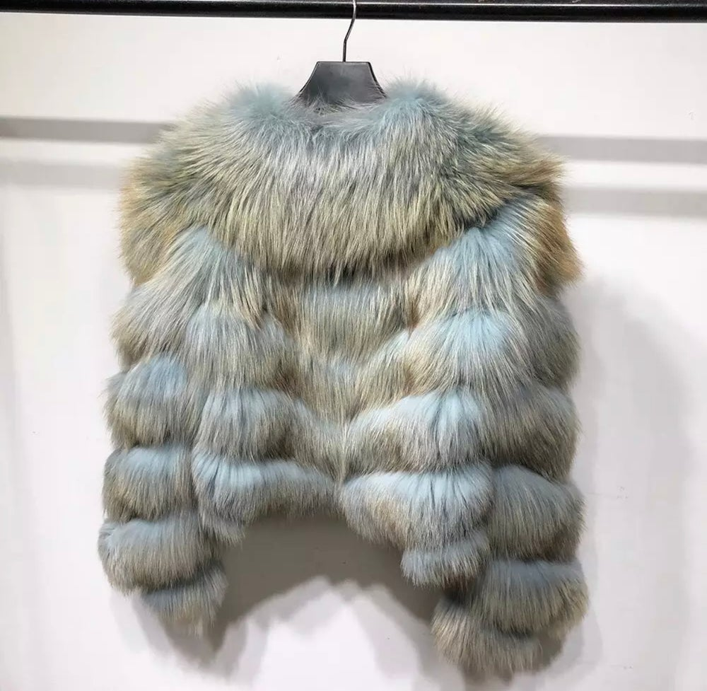 Image of Aston Fox Fur Bomber