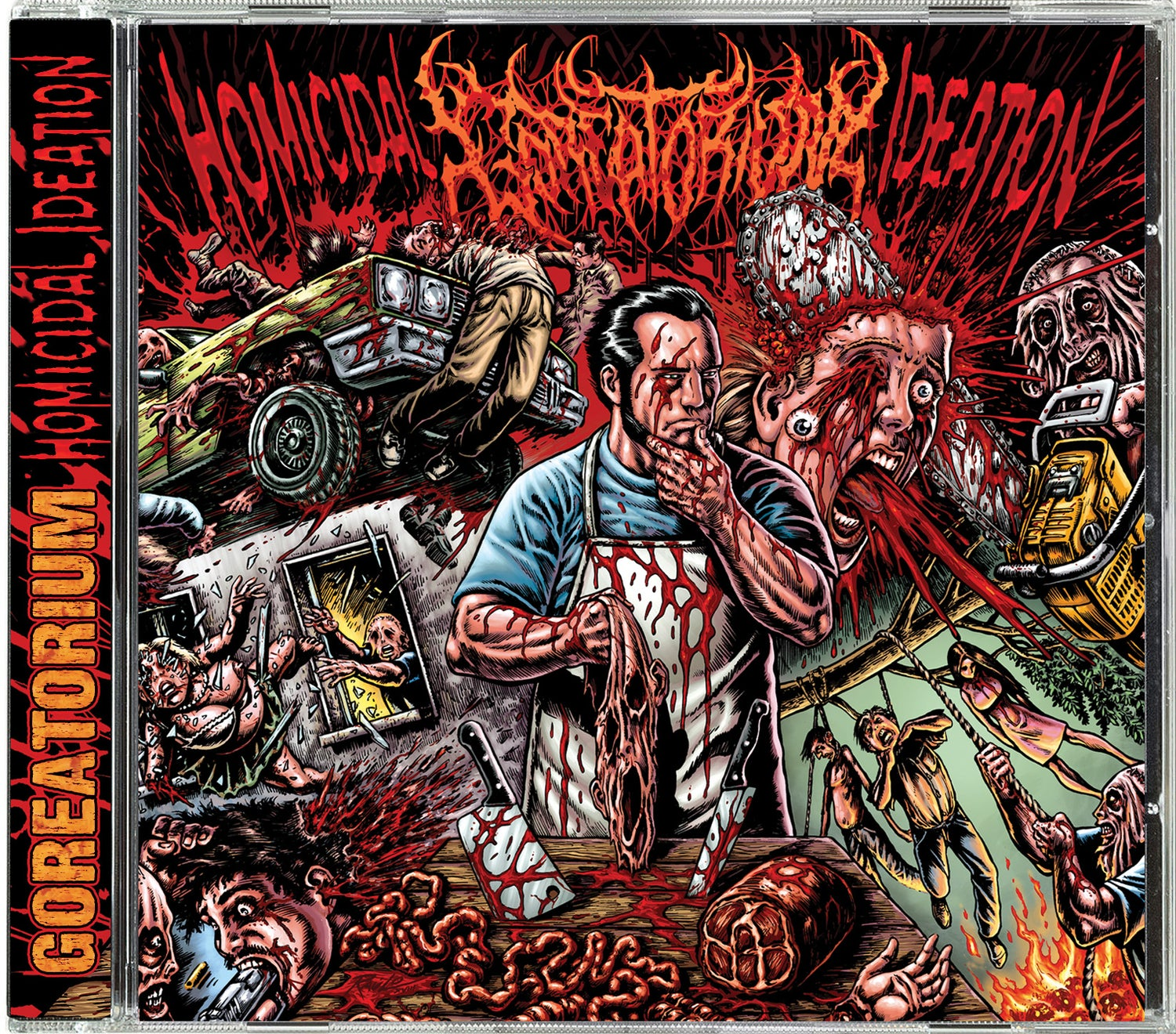 Image of Goreatorium: Homicidal Ideation CD