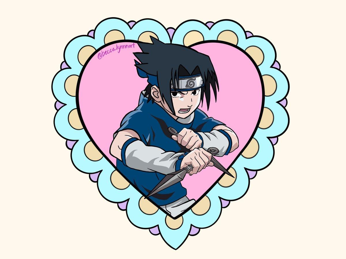 Image of Sasuke Print