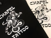 Image of CHAPEL TATTOO - TIGER SNAKE T-SHIRT