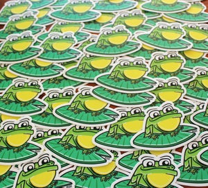 Image of Frog Sticker