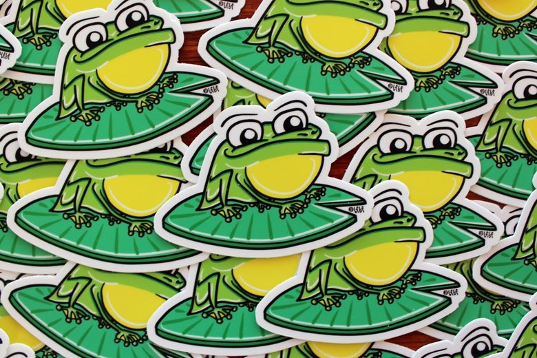 Image of Frog Sticker