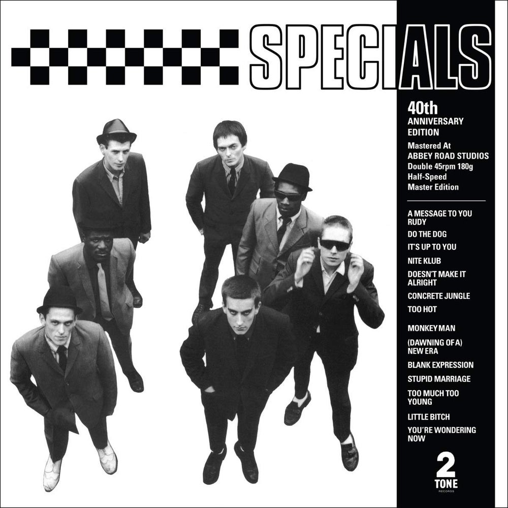 Image of The Specials - s/t 40th Anniversary Edition 2xLP
